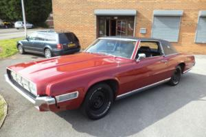 FORD THUNDERBIRD LANDAU 460CI 7.4 AUTO 2DR COUPE (1969) BURGUNDY SOUNDS AWESOME!