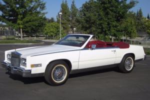 1984 Cadillac Eldorado Biarritz Convertible. 73k miles
