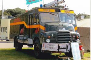 Green Goddess Bedford Fire Appliance 1955 4x4 Petrol