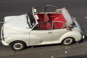 MORRIS MINOR 1000 Convertible 1967 WHITE