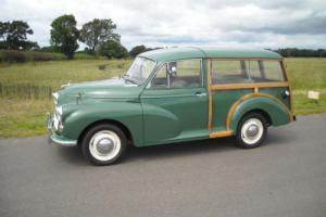 morris 1000 traveller 1968 in superb allround condition older restoration