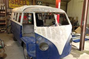 VW 1965 11 WINDOW SPLIT SCREEN CAMPER UK RHD BARN FIND