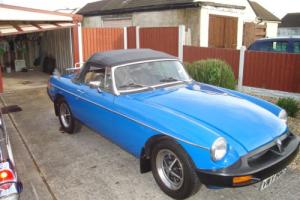 MGB ROADSTER 1977 MOT THOUSANDS IN RESTORATION HISTORY AND BILLS