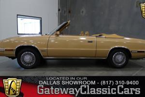 1985 Chrysler Lebaron Mark Cross
