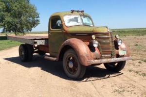 1939 International Harvester D 30 Flatbed