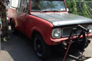 1969 International Harvester Scout Scout