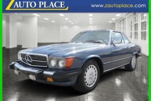 1986 Mercedes-Benz 500-Series 560SL