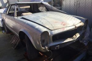1965 Mercedes Benz 250SL Suit Restoration Project Collector Classic Cars in VIC