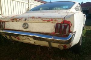 1965 Mustang Fastback 63 B Deluxe C Code V8 Manual Suit Shelby Clone in VIC
