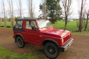 Suzuki Sierra UTE1986 in VIC