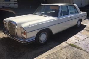Mercedes Rare W108 280SE 3 5 V8 Californian Headlights
