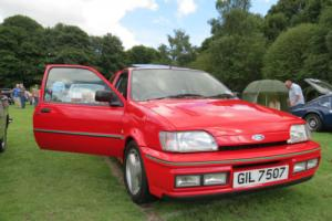 1990 FORD FIESTA 1.6 RS TURBO RED (WOW)