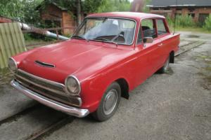 1965 Mk1 Ford Cortina 1500 deluxe