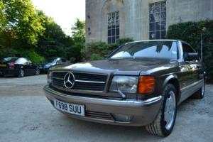 Mercedes sec500 Imola Brown