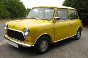 1979 Classic Leyland Mini 1000 - fully restored, ready to use
