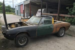 TRIUMPH STAG rolling shell £6000 SPENT Photo