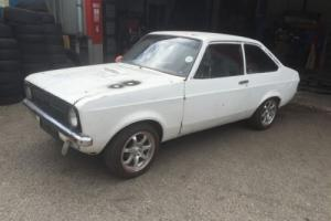 MK2 FORD ESCORT 2 DOOR... FOR RESTORATION PROJECT ....RHD