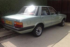 Classic ford cortina mk 5 1.6 L 35,000 genuine miles fsh green