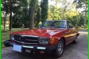 1982 Mercedes-Benz 500-Series