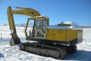 1985 Mitsubishi MS180LC Excavators Photo