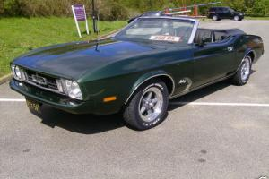 Superb 1973 Ford Mustang V8 Convertible Fully Loaded