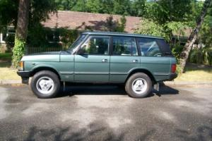 1986 ROVER RANGE ROVER EFI GREEN MAZDA TDI CONVERSION. RESTORED. SERVICED.