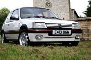 1987 PEUGEOT 205 1.9 GTI WHITE