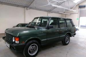 1989 G CLASSIC LAND ROVER RANGE ROVER VOGUE EFI A 3.9 V8