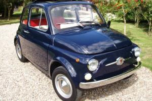 Fiat 500 F -round speedo-exceptional condition