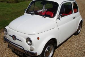 Fiat 500 Bellina -uk registered and ready to go