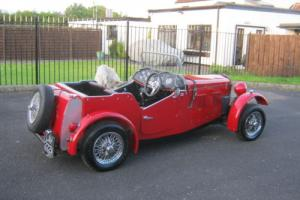 1960 JC BODIED TRIUMPH 13/60 2X2 CHROME WIRES, 12 MONTHS MOT FULL WEATHER GEAR. Photo