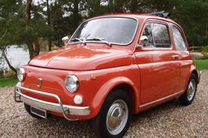 Fiat 500 Lusso -immaculate restored condition -