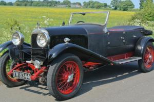 "1928 LAGONDA 2 litre ""Speed"" HIGH CHASSIS OPEN TOURER may Px"