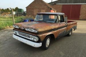 1961 CHEVY APACHE - PICK UP TRUCK - RAT - PROJECT - Like - C10 - C20 - PICKUP