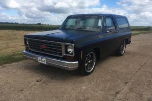 1976 chevy blazer factory 2wd american more practical than a truck or pick up!!