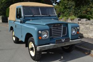 "Land Rover Series 3 88"" Softop 2 Owners and 58,000 Miles"