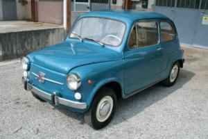 FIAT 600 D FANALONA 1968, 767 CC ENGINE