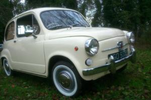 1971 RHD Fiat 600E, great little car in great condition.