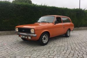 1979 Classic MK2 Ford Escort Estate 2 Door 1.3L -