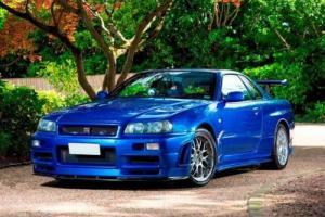 2000 Nissan Skyline R34 GTR V-Spec Photo