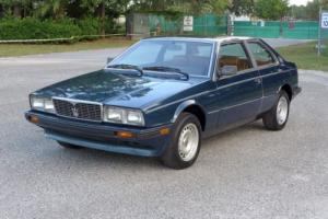 1984 Maserati Bi Turbo