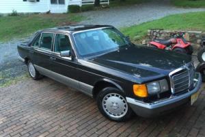1986 Mercedes-Benz 500-Series