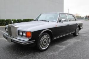 1986 Rolls-Royce Silver Spirit/Spur/Dawn Silver Spur