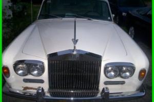 1972 Rolls-Royce Silver Shadow 1972 Rolls Royce silver shadow  LWB Florida ratrod