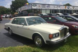 1988 Rolls-Royce silver spirit Photo