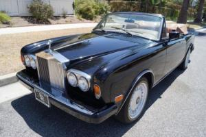 1986 Rolls-Royce Corniche II IN RARE 'MASONS BLACK' OVER 'TAN' LEATHER