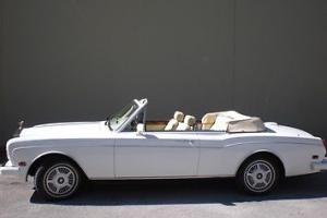 1986 Rolls-Royce Corniche