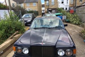 1990 BENTLEY Turbo R BLUE No Reserve