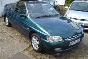 Ford Escort 1.8i Ghia Cabriolet, Convertible, 35,000 MILES FROM NEW