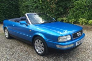 1999 AUDI CABRIOLET 2.6 AUTO FINAL EDITION IN SUPERB CONDITION